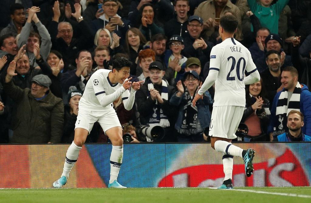 Son Heung-min lap cu dup giup Tottenham tao ky luc o cup chau Au hinh anh 7