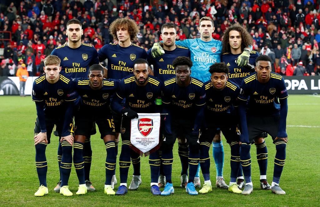 Nguoc dong trong 2 phut, Arsenal vuot qua vong bang Europa League hinh anh 1 2019-12-12T175750Z_1772074306_RC2TTD9Q72QX_RTRMADP_3_SOCCER-EUROPA-STL-ARS-REPORT.JPG