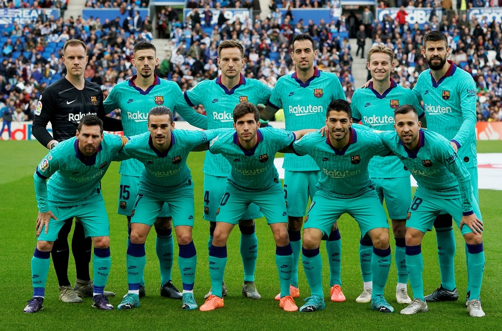 Messi kien tao trong tran Barca bi cam hoa 2-2 hinh anh 1 2019-12-14T151137Z_1824218869_RC23VD98CIJS_RTRMADP_3_SOCCER-SPAIN-SOC-FCB-REPORT.JPG