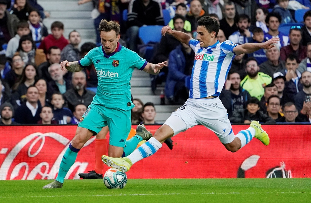 Messi kien tao trong tran Barca bi cam hoa 2-2 hinh anh 3 2019-12-14T162628Z_1600255682_RC24VD9HSI27_RTRMADP_3_SOCCER-SPAIN-SOC-FCB-REPORT.JPG