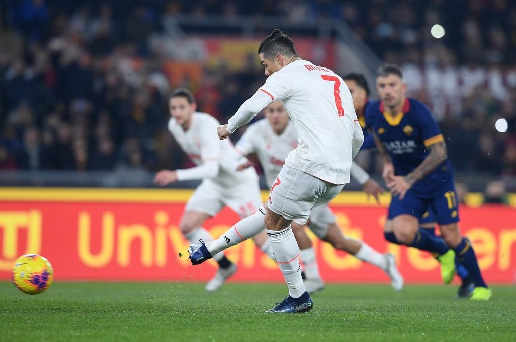 Juventus dau Roma anh 5
