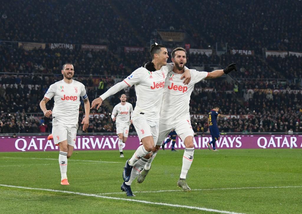 Juventus dau Roma anh 4