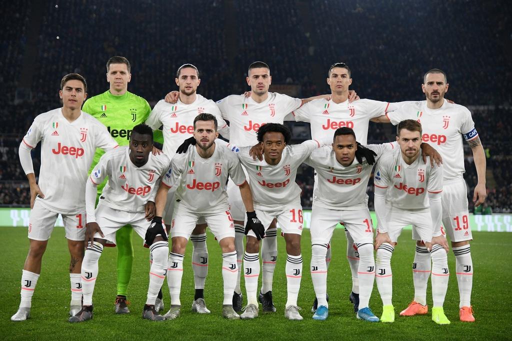 Juventus dau Roma anh 1