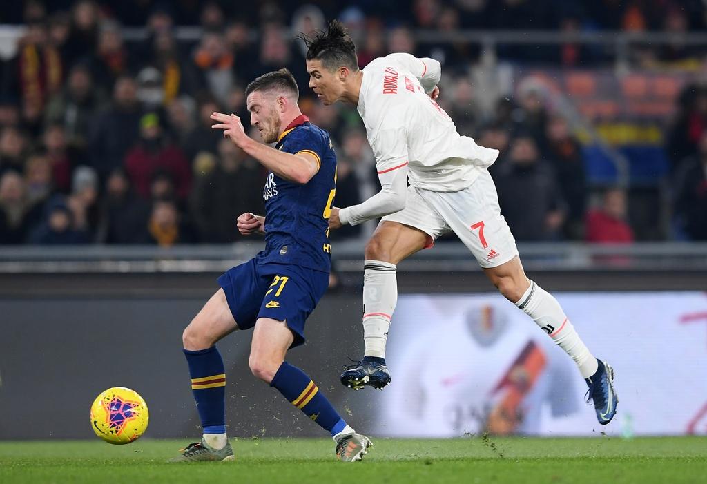 Juventus dau Roma anh 10