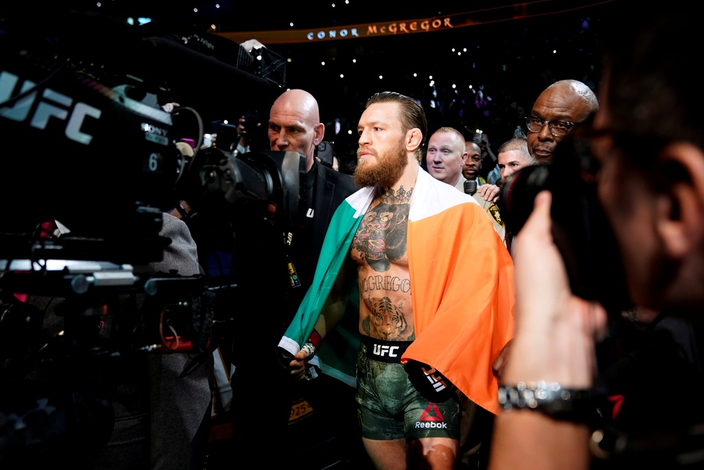 Conor McGregor khien doi thu bat ngo trong tran thang knock-out hinh anh 1 2020_01_19T053552Z_515339740_RC2TIE9HVV0D_RTRMADP_3_MMA_UFC_UFC246_1.JPG