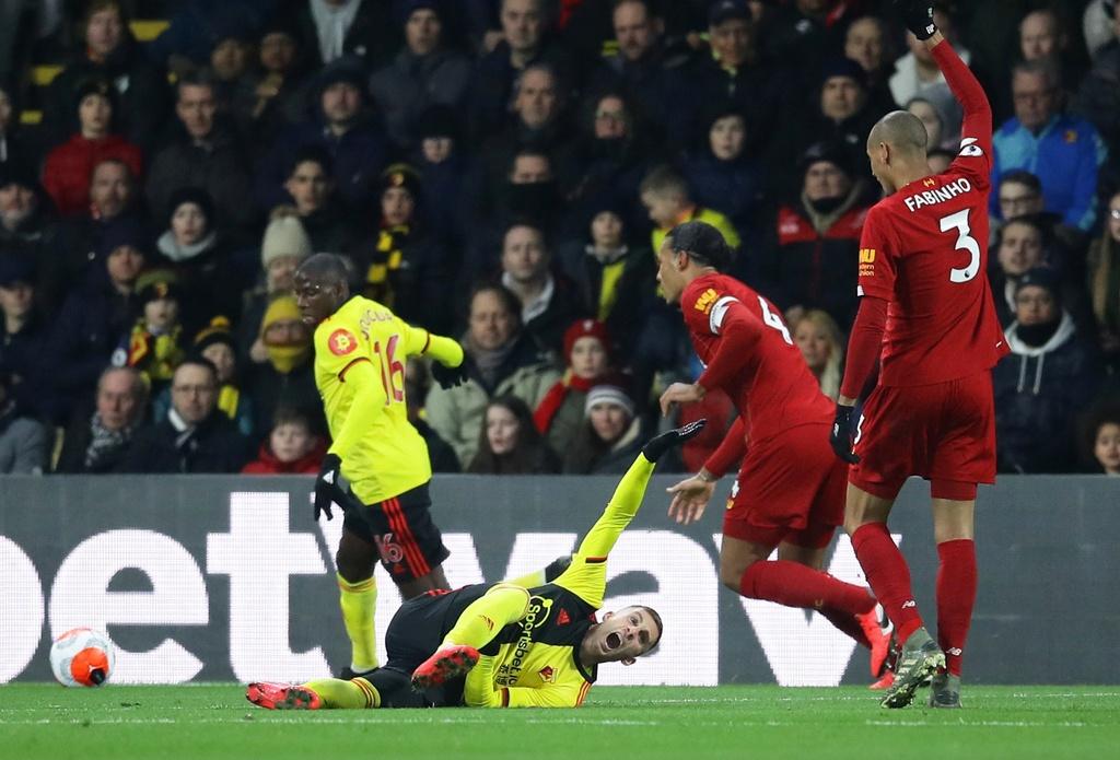 Liverpool thua Watford anh 2