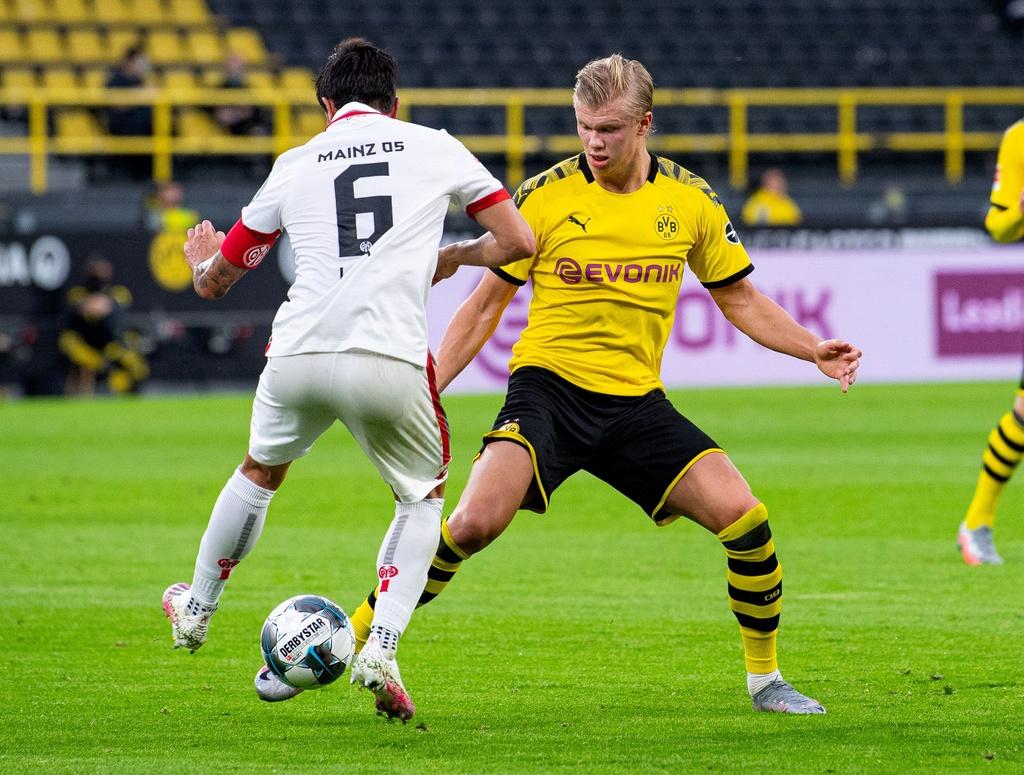 Dortmund thua 0-2 trong ngay Haaland tro lai anh 1