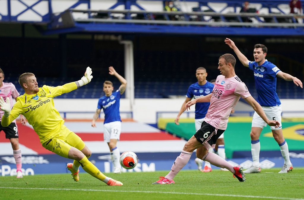 Everton dau Leicester City anh 7