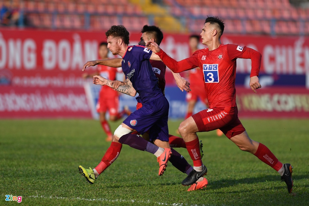 CLB Hai Phong vs CLB Sai Gon anh 7