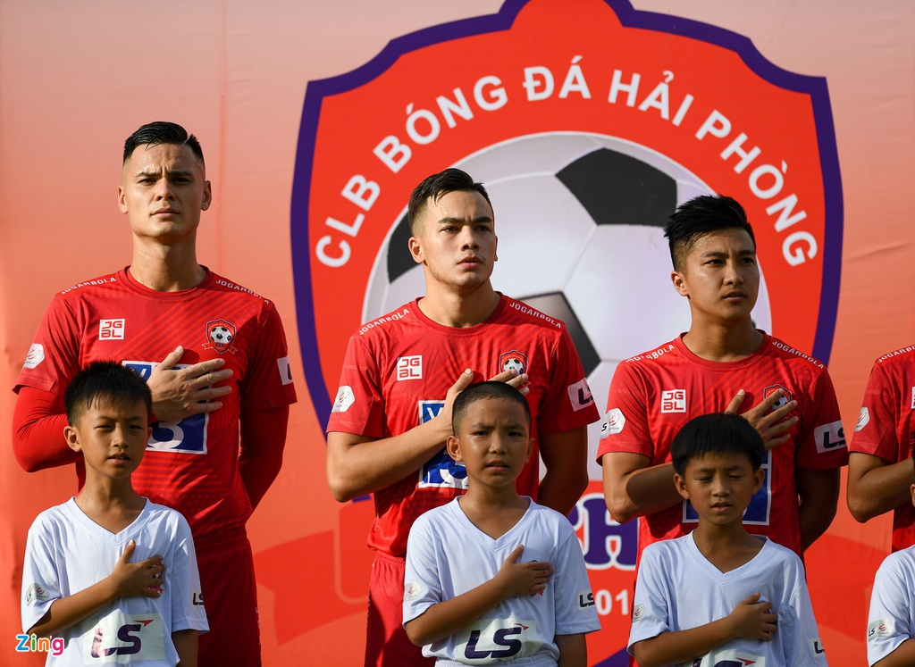 CLB Hai Phong vs CLB Sai Gon anh 1
