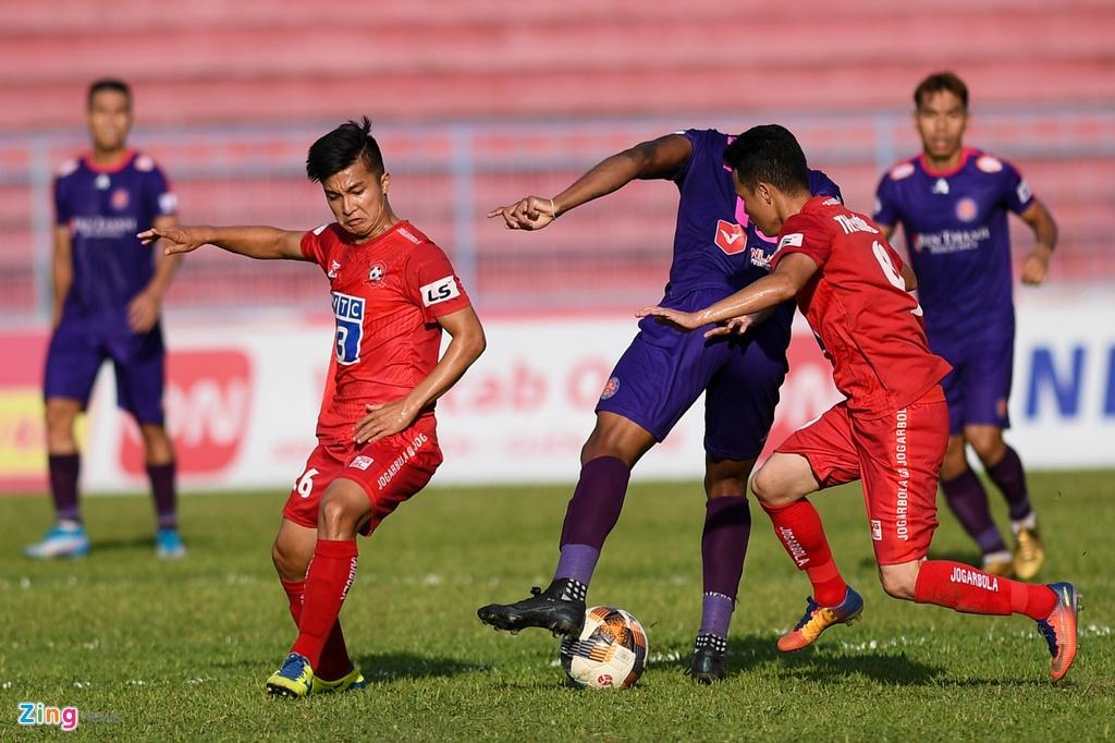CLB Hai Phong vs CLB Sai Gon anh 2