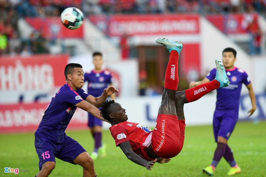 CLB Hai Phong vs CLB Sai Gon anh 9
