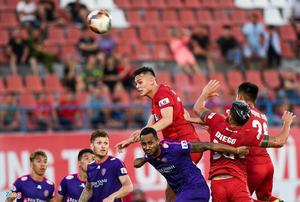 CLB Hai Phong vs CLB Sai Gon anh 10