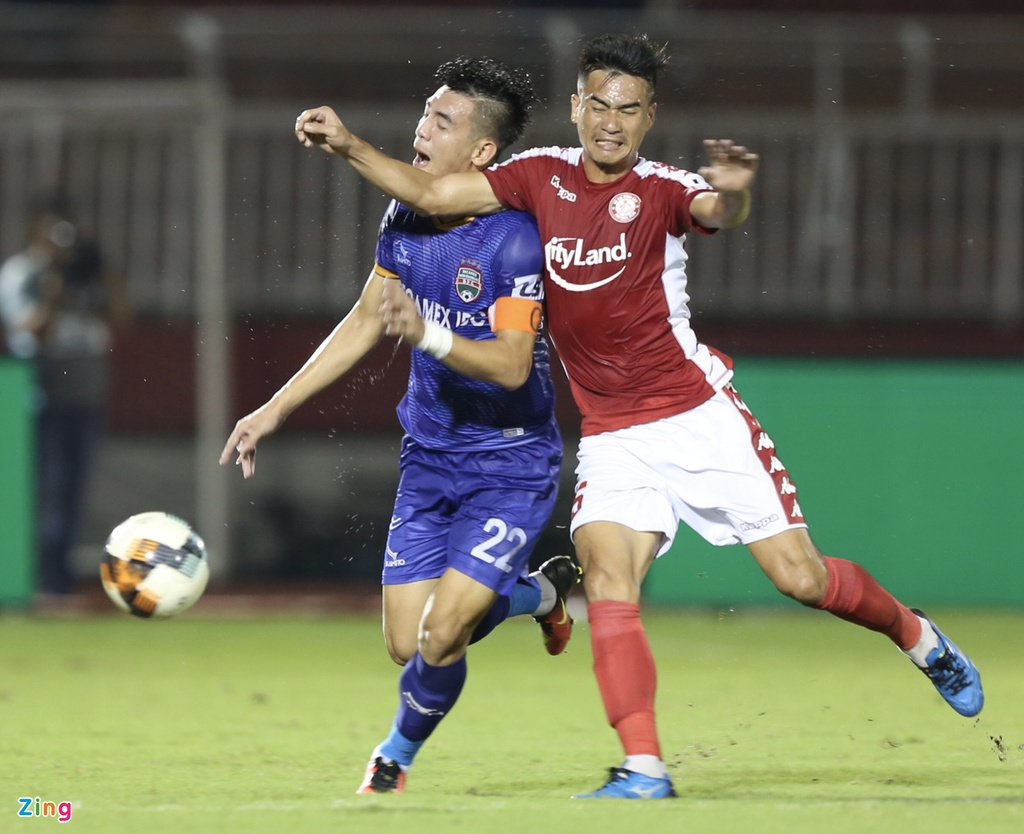 CLB TP.HCM vs Binh Duong anh 13