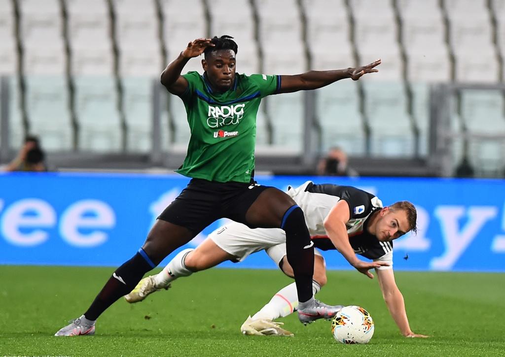 Juventus vs Atalanta anh 1