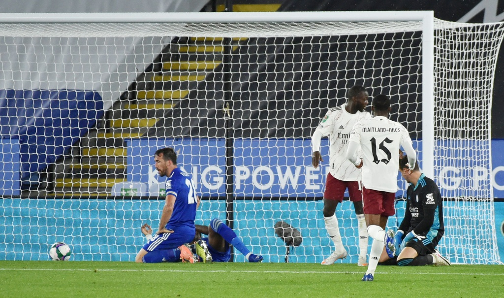 Arsenal dau Leicester anh 6