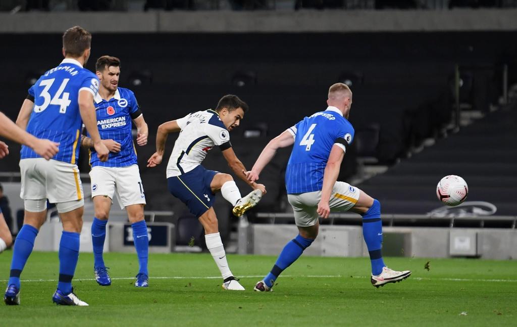 Tottenham dau Brighton anh 3