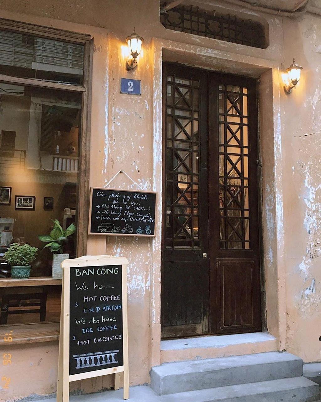 5 quán cà phê ẩn mình trong biệt thự giữa lòng Hà Nội