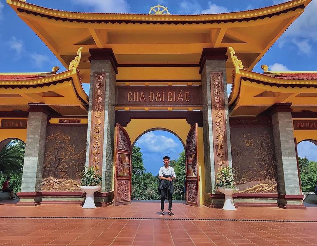 4 Thien vien Truc Lam noi tieng o Nam Bo hinh anh 22  - chikhai1512_66652714_664428840650261_1233818667263326614_n - 4 Thiền viện Trúc Lâm nổi tiếng ở Nam Bộ