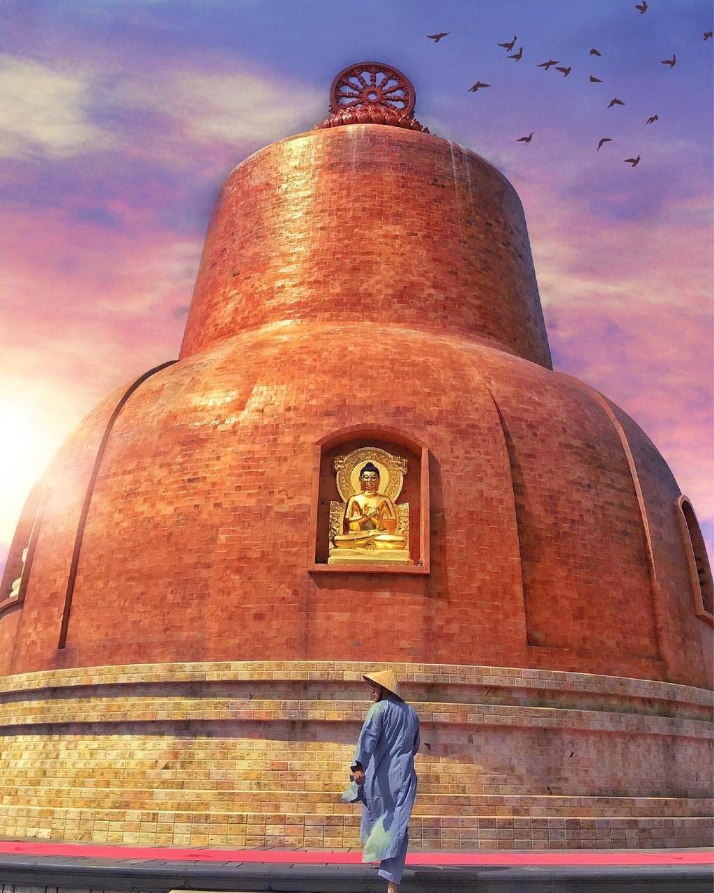 4 Thien vien Truc Lam noi tieng o Nam Bo hinh anh 16  - cuongnvy_47142060_778420845828620_8093870241174419387_n - 4 Thiền viện Trúc Lâm nổi tiếng ở Nam Bộ