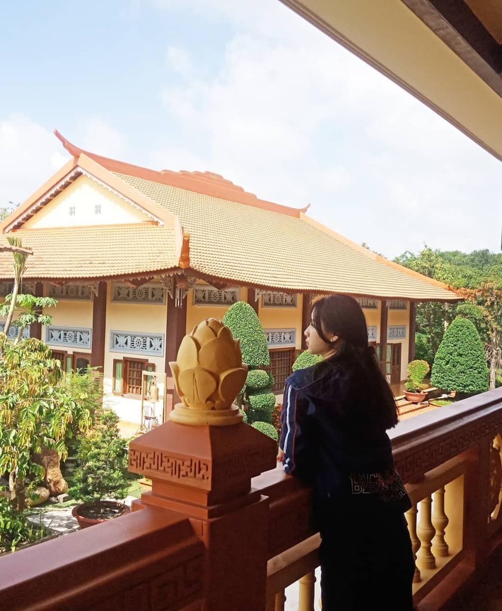 4 Thien vien Truc Lam noi tieng o Nam Bo hinh anh 15  - lekimngann_68707296_2801753653172178_6062829669546087061_n - 4 Thiền viện Trúc Lâm nổi tiếng ở Nam Bộ