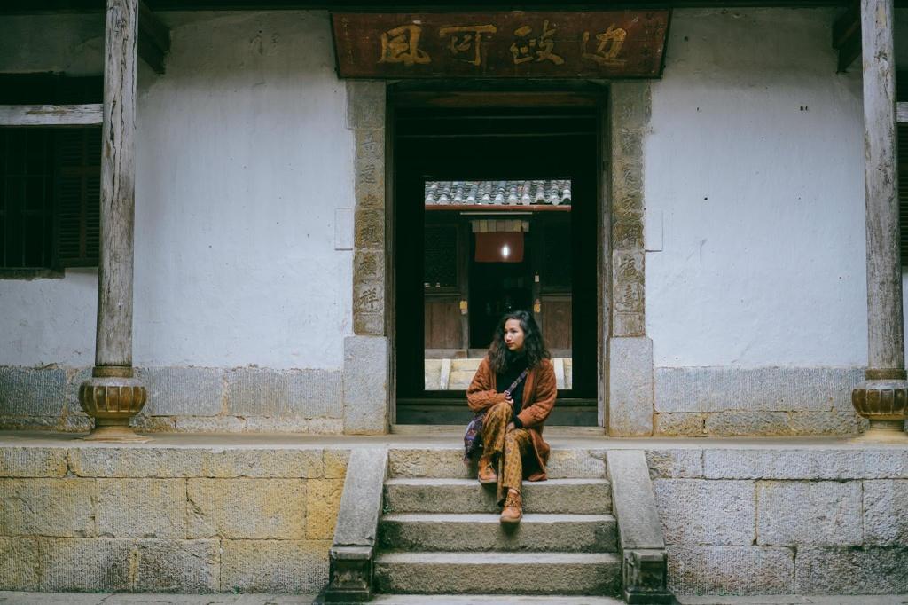 Check-in lien tay dinh thu co tua Trung Hoa tai Ha Giang hinh anh 11