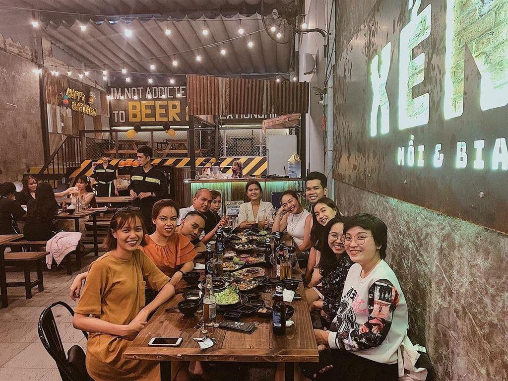 Tụ tập hội bạn tại những quán ăn ngon, không gian mở ở TP.HCM