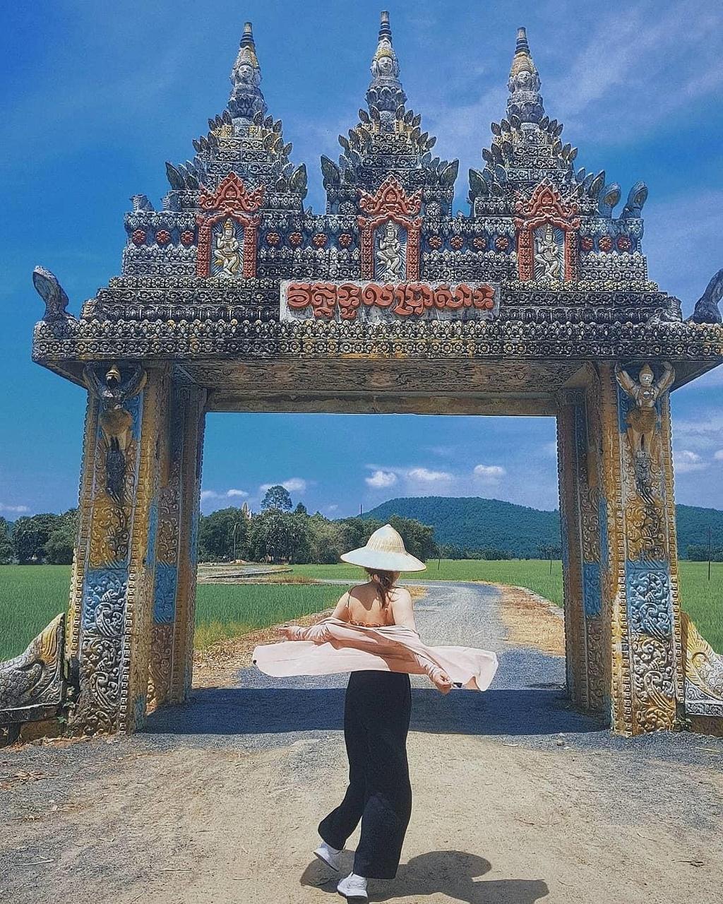 Lo dien 'cong troi' An Giang thu hut tin do du lich den check-in hinh anh 1