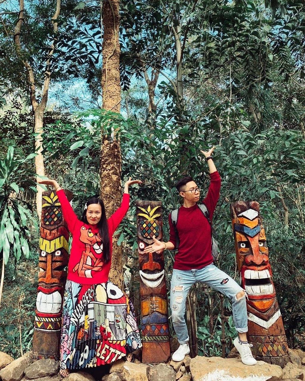 'Xich du to ken' dep tua Bali thu hut gioi tre check-in o Tay Nguyen hinh anh 3
