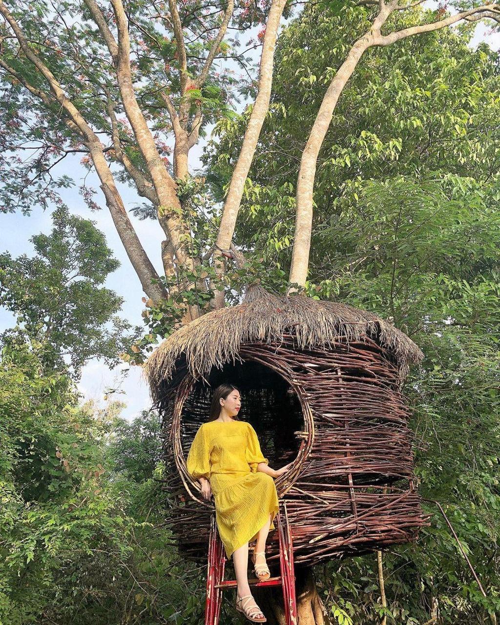 'Xich du to ken' dep tua Bali thu hut gioi tre check-in o Tay Nguyen hinh anh 11