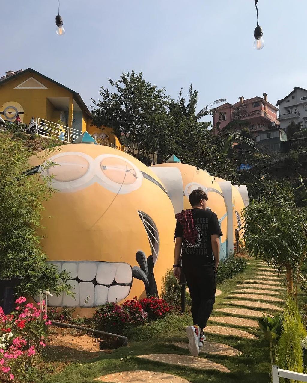 Nhà của Doraemon và 4 homestay thiết kế lạ ở Đà Lạt