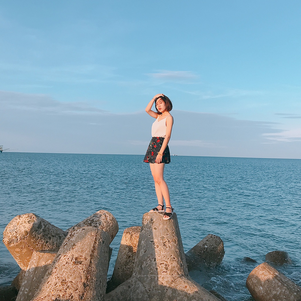 Biển Cửa Tùng đẹp hoang sơ hút giới trẻ đến Quảng Trị