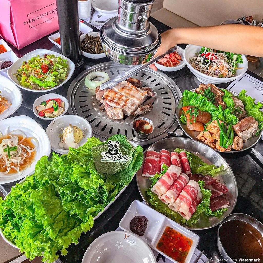 An uong tha ga tai 4 nha hang buffet nuong o Da Nang hinh anh 6