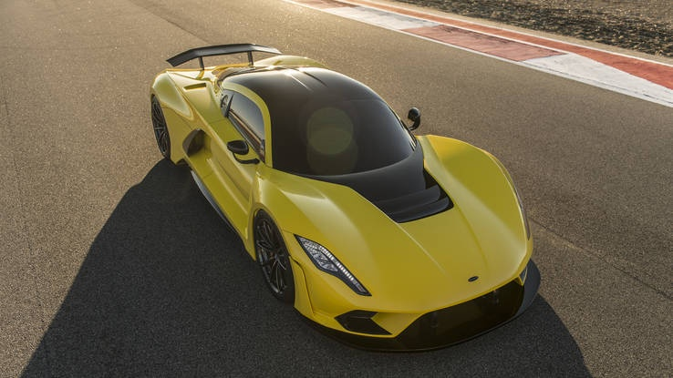 Hennessey Venom F5 - sieu xe My lat do Bugatti Chiron hinh anh 4