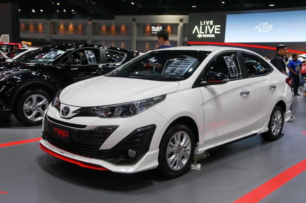 Toyota Vios TRD 2019 ra mat tai Thai Lan anh 1