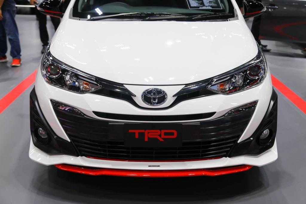 Toyota Vios TRD 2019 ra mat tai Thai Lan anh 2
