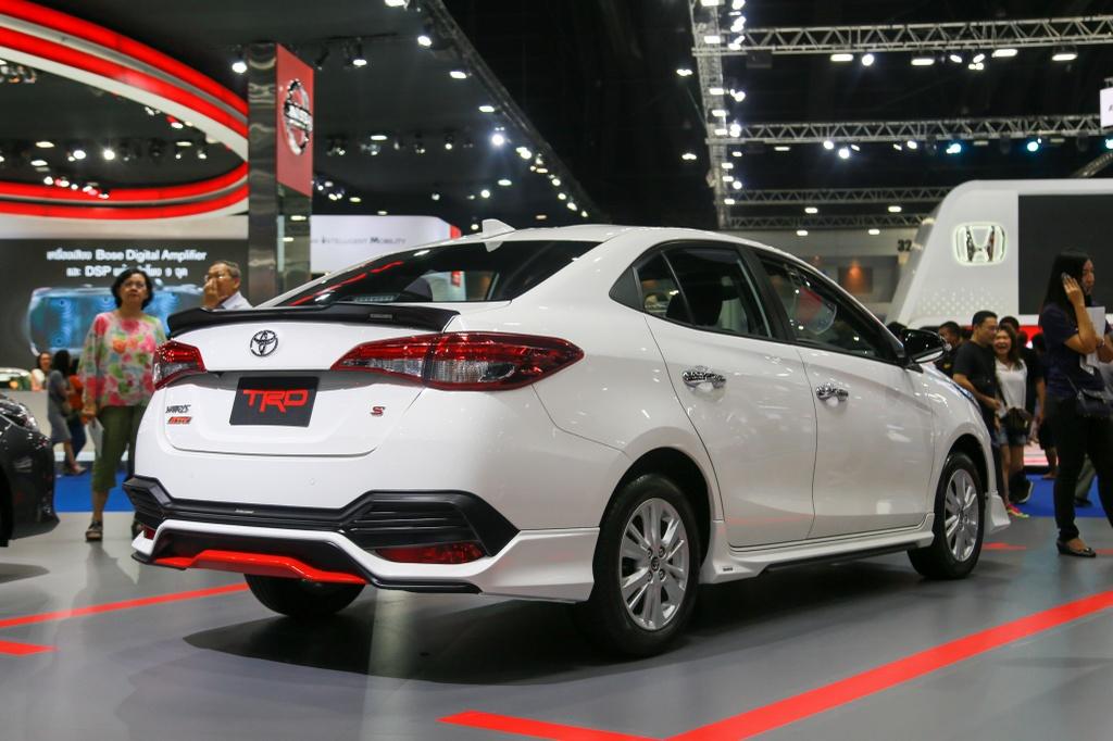 Toyota Vios TRD 2019 ra mat tai Thai Lan anh 4