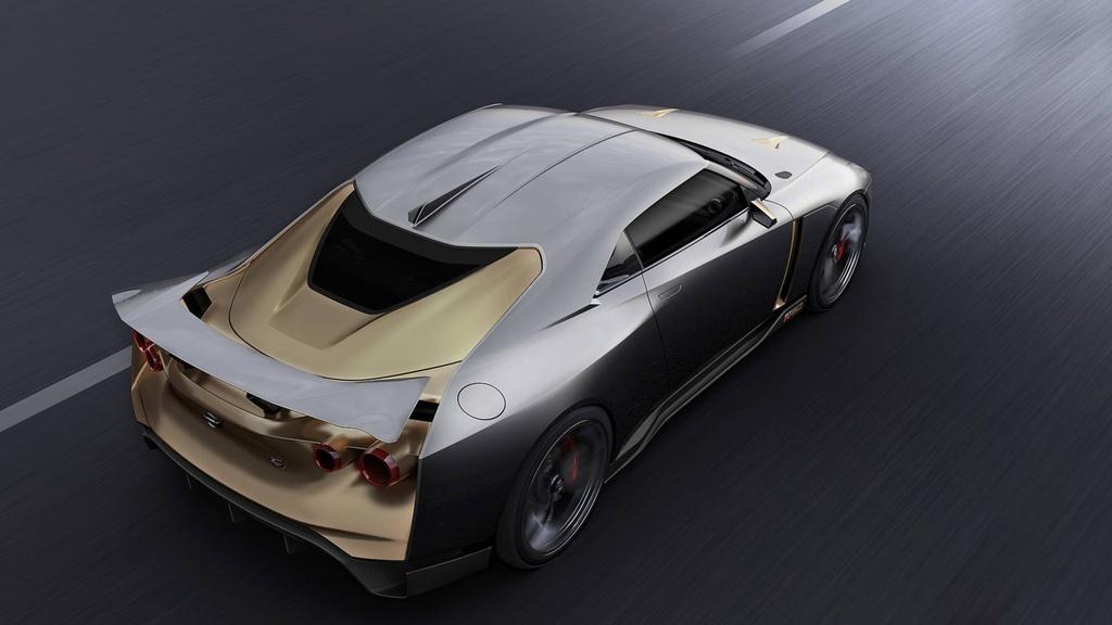 Nissan GT-R50 phien ban dac biet ra mat anh 4