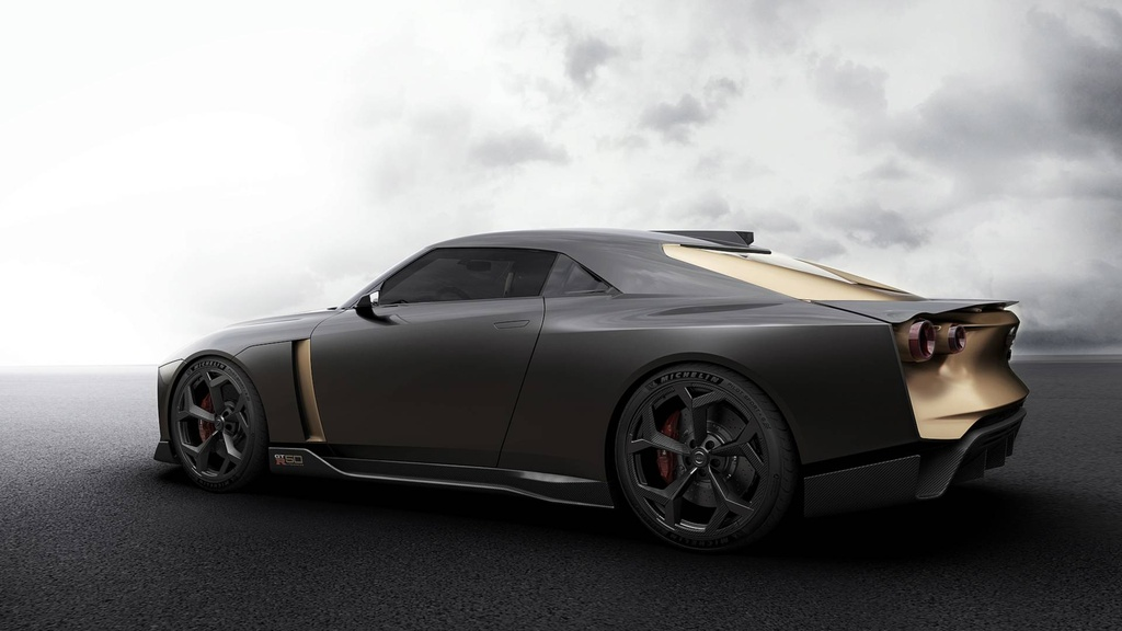 Nissan GT-R50 phien ban dac biet ra mat anh 9