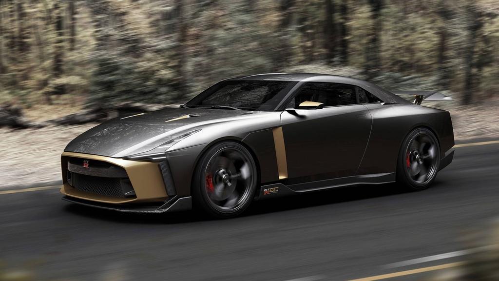 Nissan GT-R50 phien ban dac biet ra mat anh 8
