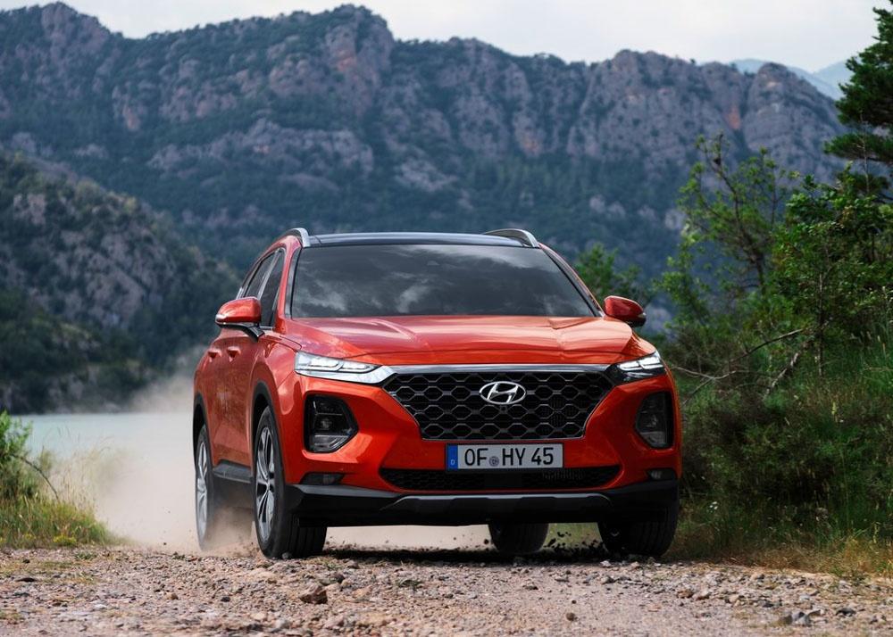 Chi tiet Hyundai Santa Fe 2019 - hien dai va an toan hon hinh anh 1