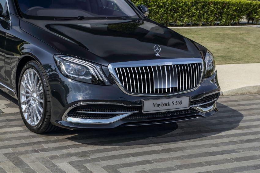 Mercedes-Maybach S 560 va S 650 cap ben Malaysia gia tu 8 ty dong hinh anh 2