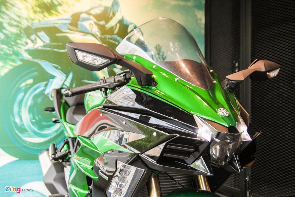 Sieu moto phuot Kawasaki Ninja H2 SX SE dau tien ve Viet Nam hinh anh 3