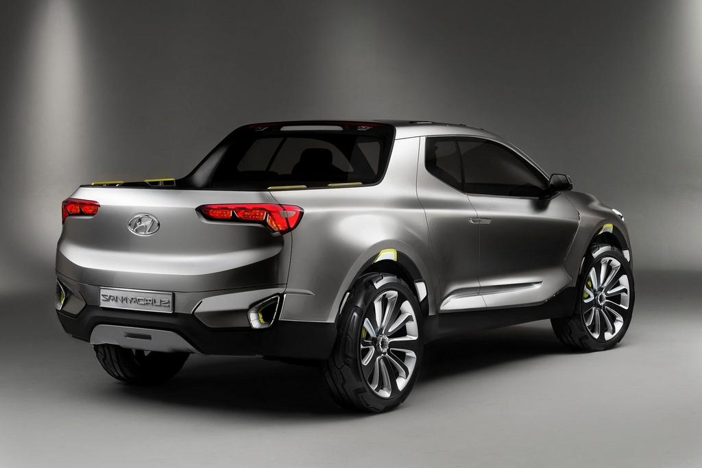 Xe ban tai Hyundai Santa Cruz ra mat nam 2020, gia duoi 19.000 USD hinh anh 6