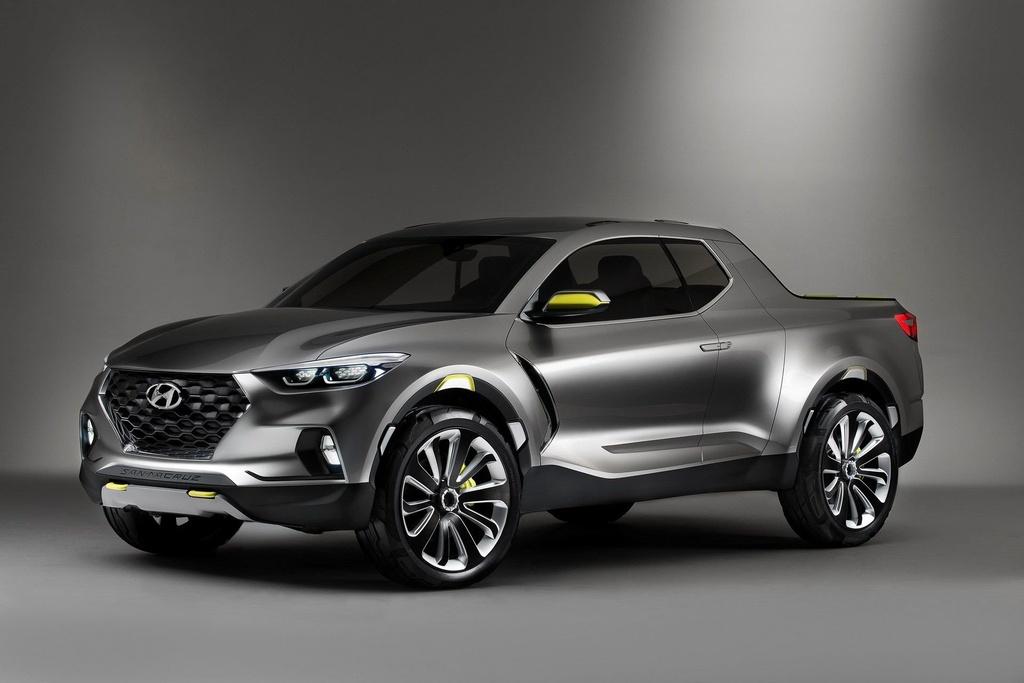 Xe ban tai Hyundai Santa Cruz ra mat nam 2020, gia duoi 19.000 USD hinh anh 1