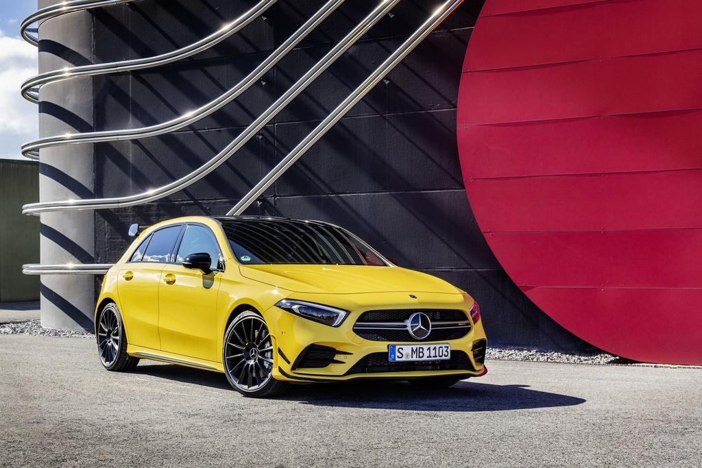Mercedes-AMG A35 ban ra vao thang 12, gia hon 54.000 USD hinh anh 1