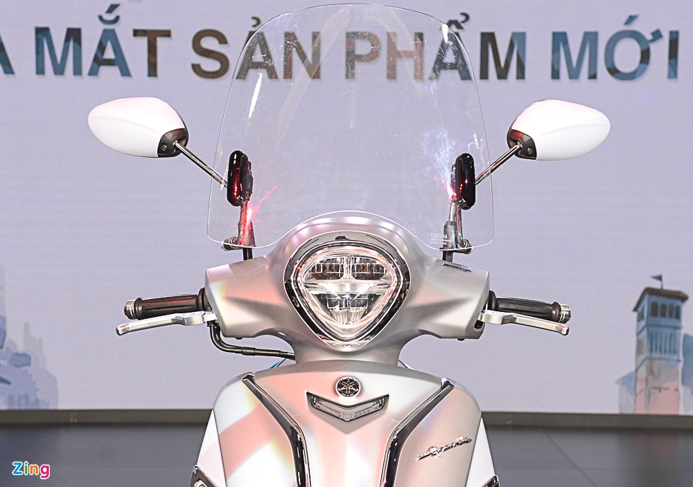 Chi tiet Yamaha Grande 2018 - Dang moi, dong co hybrid hinh anh 3