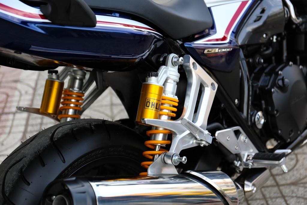 Honda CB1300 Super Four SP dau tien ve Viet Nam, gia 488 trieu dong hinh anh 6