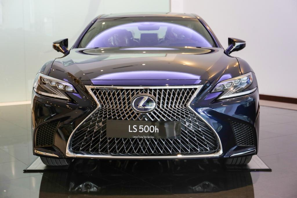 Chi tiet Lexus LS500h 2019 gia 8,75 ty dong vua ra mat o VN hinh anh 1