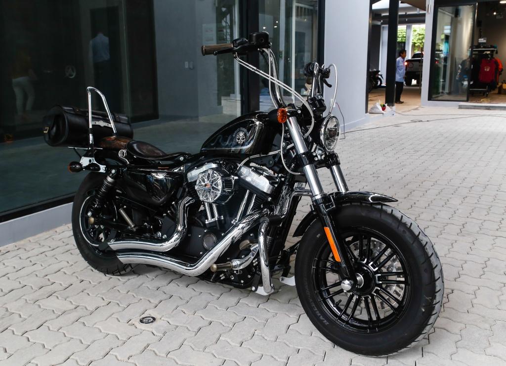 Harley-Davidson Sportster Forty-Eight do cua biker Sai Gon hinh anh 1